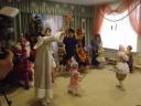 Новогодний праздник у малышей.